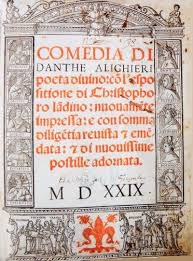 Divina Commedia (free image from Google)