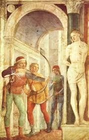 The Martyrdom od Saint Sebastian