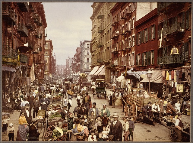 New York around 1890